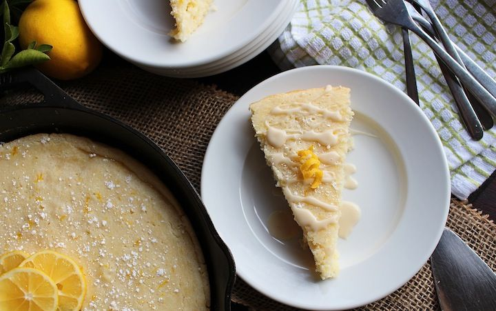 Meyer Lemon and Ricotta Cheese Skillet Cake — LocalSavour | Cakes to ...