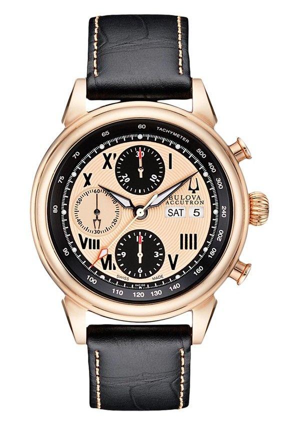 Bulova Accutron Gemini Chronograph 64C100 Watch
