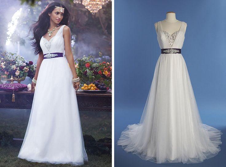 """Disney lança vestidos de noivas inspirados em suas princesas   Jasmine, de """"Aladdin"""""""