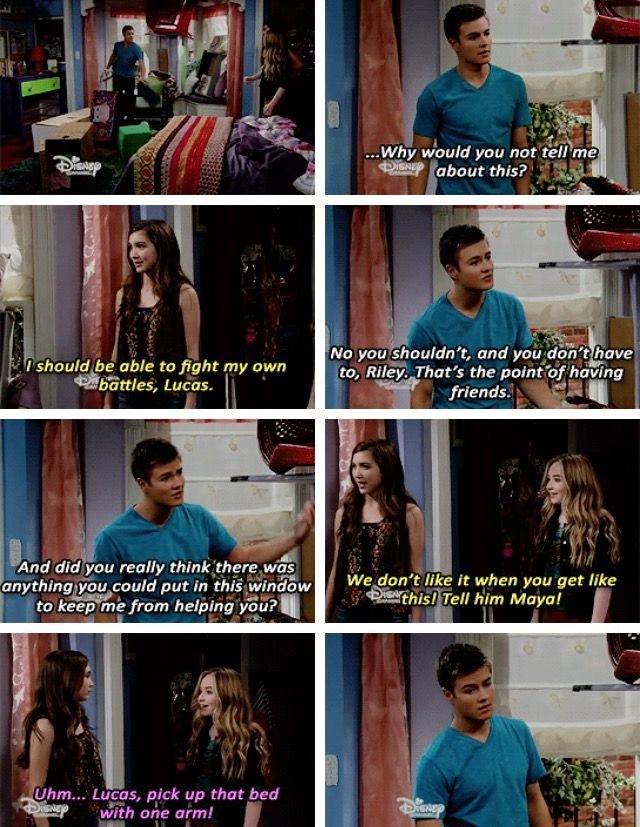 Girl Meets Rileytown. This episode makes me cry every time I watch it