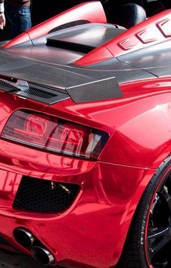Visit The MACHINE Shop Café... ❤ Best of Audi @ MACHINE... ❤ (The Audi R8 V8 Spyder Supercar)