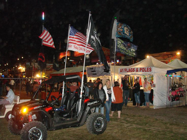 Telescopic flag poles, mounts, lights, flags, car flags for your home, RV, camping, sand dunes, tailgating, and much more  http://www.a1flagsnpoles.com/