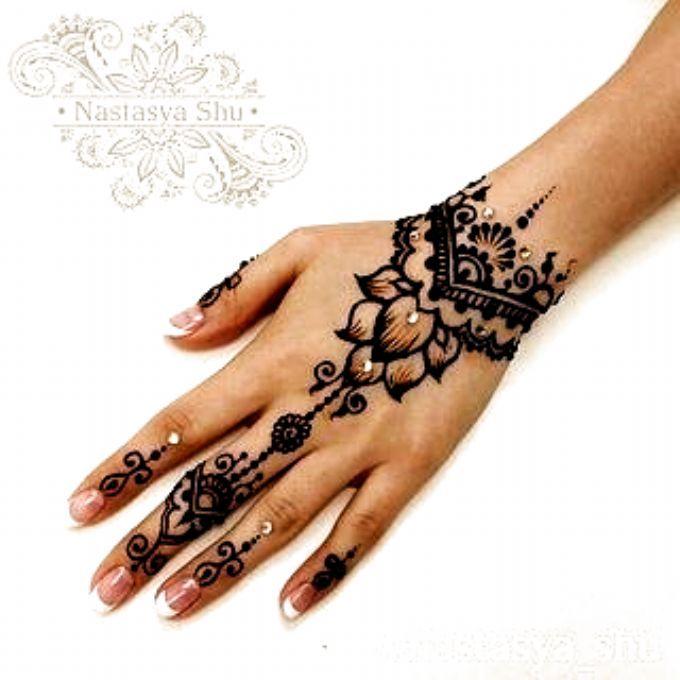 55 Beautiful Henna Tattoo Design Ideas Feryhan 4