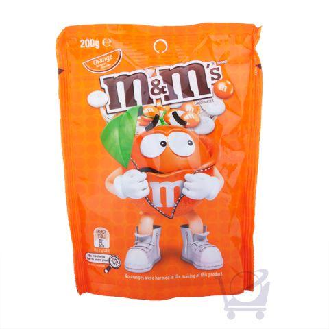 Orange m&m's – Mars Chocolate Australia – 200g | Shop Australia