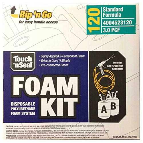 Touch n' Seal High Density Spray Foam Roof Insulation Kit ...