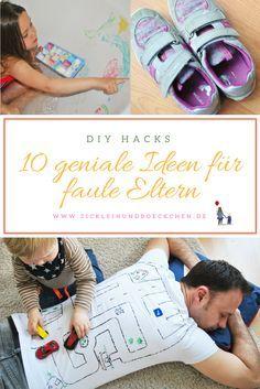 Faule Eltern sind pädagogisch wertvoll, weil sie Kinder selber ausprobieren lassen: 10 Tricks für faule Eltern, die auch noch den Kindern helfen!