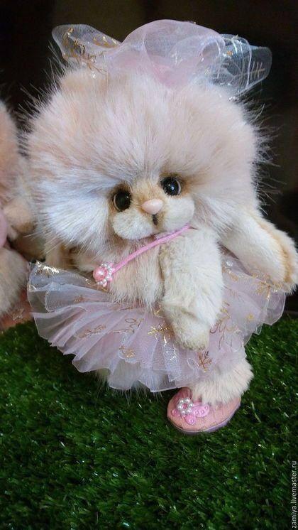 Мишки Тедди ручной работы. Заказать Лёлик и Лялька. Little Bubbles (Марина). Ярмарка Мастеров. Зайка тедди, атласная тесьма
