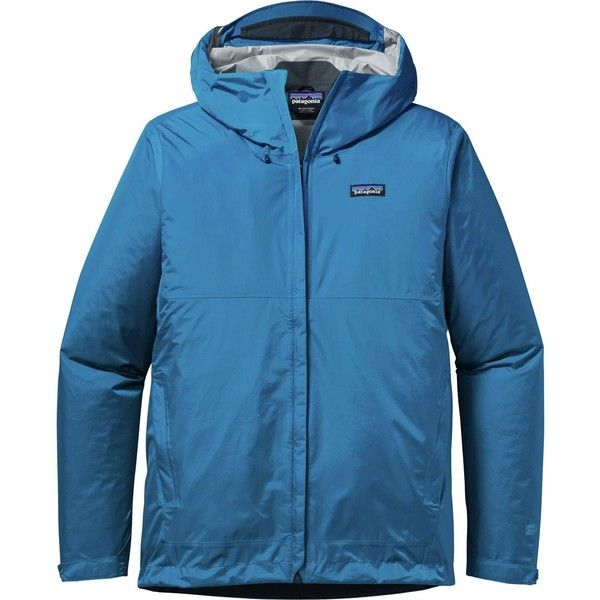 Patagonia Torrentshell Jacket ($97) ❤ liked on Polyvore featuring men's fashion, men's clothing, men's outerwear, men's jackets, patagonia mens jacket, mens jackets, mens shell jackets, mens summer jackets and mens waterproof jackets