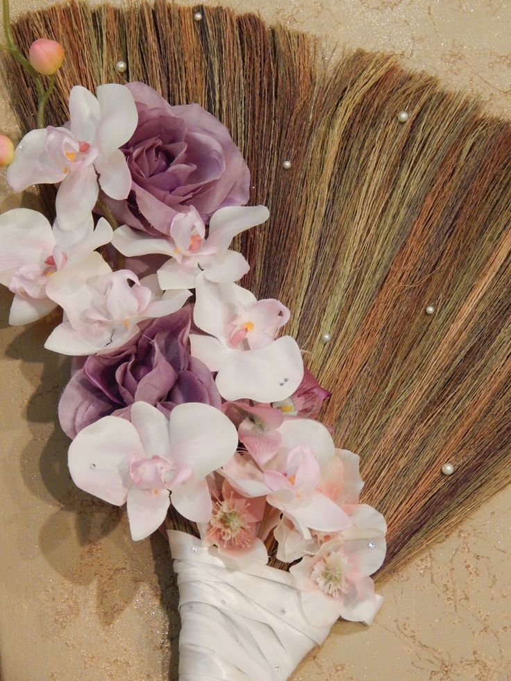 'FOREVER LOVED' wedding jumping broom