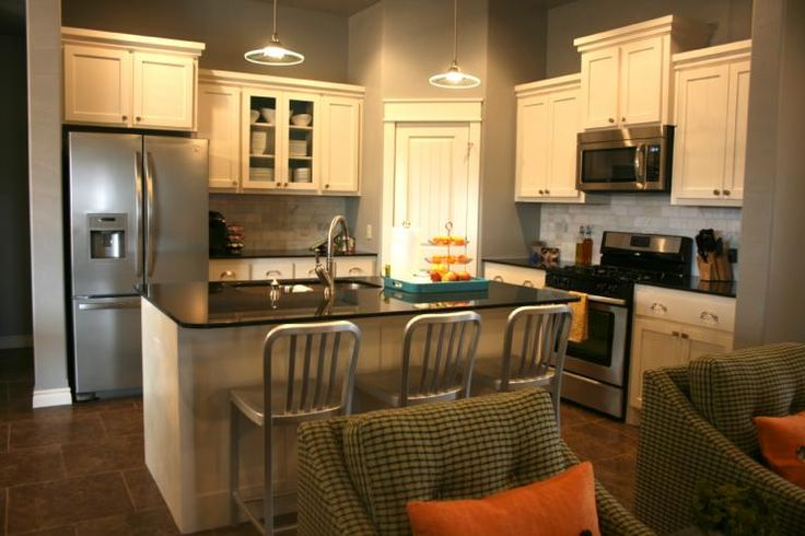 Best White Kitchen Cabinets With Gray Walls White Kitchen 400 x 300