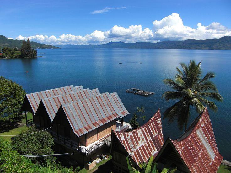 Lake Toba, North Sumatra    Lake Toba is a volcanic lake with a length of 100…