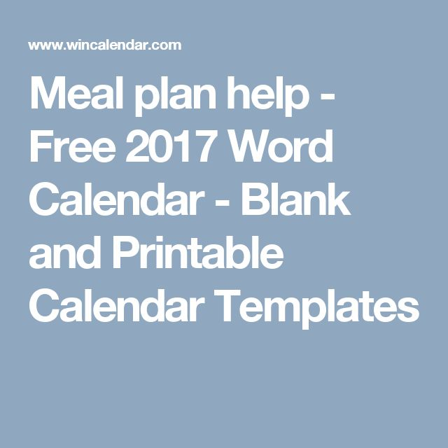 The 25+ best 2017 calendar template word ideas on Pinterest Free - calendar templates in word