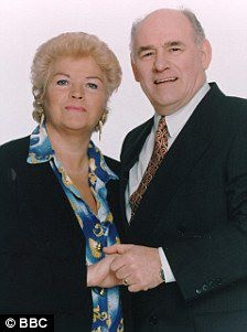 Pat and Roy Evans played by Pam St Clement and Tony Caunter