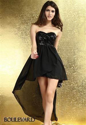 BOULEVARD Dlouhé dámské šaty, společenské šaty, plesové šaty