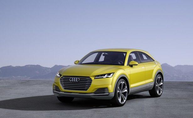 Cars - Audi TT Offroad Concept : le coupé star passe en mode SUV hybride ! - http://lesvoitures.fr/audi-tt-offroad-concept-2014/