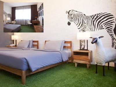 Stevie 6 Hotel Bandung Bandung - reservasi hotel dengan harga diskon dari klikHotel