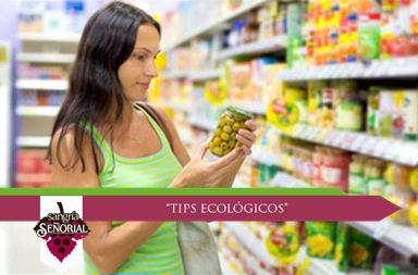 Adquiere artículos por su contenido, no sólo por lo atractivo de su presentación. Revisa la información en la etiqueta y compara precios.