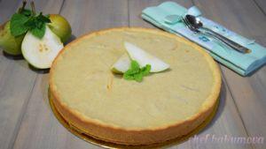Фото к рецепту: Пирог с грушами и заварным кремом. Необыкновенно вкусный пирог…