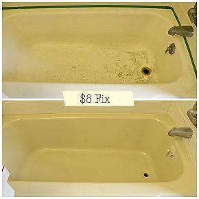 how to fix chipped bathtub floor, bathroom ideas, diy, home maintenance repairs, how to