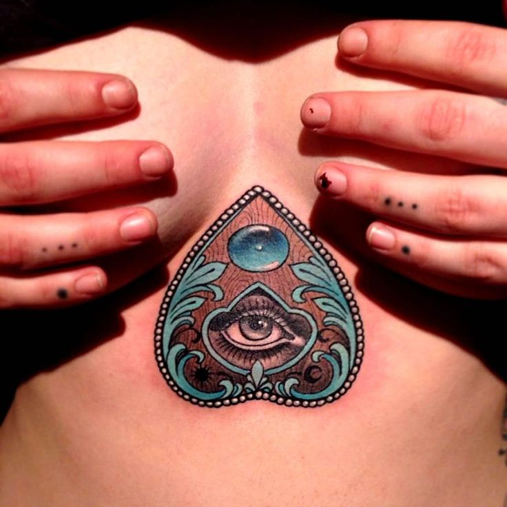 Mysterious Ouija Tattoos - the work of Eilo Martin!