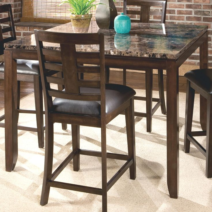 Bella Counter Height Table by Standard Furniture55 best Dining Room images on Pinterest   Dining room furniture  . Kincaid Stonewater Tall Dining Table. Home Design Ideas
