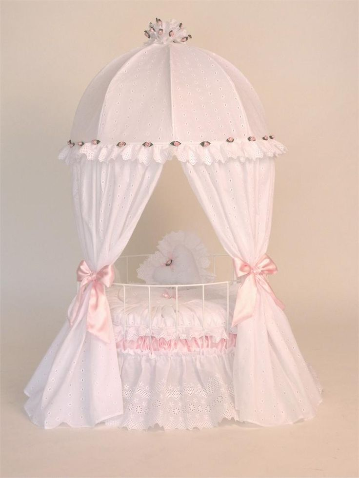 Doll Round Crib Pet Lovers Choose This Miniature Crib As