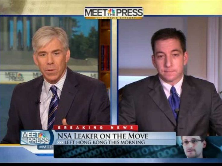 DAVID GREGORY TO GLENN GREENWALD: 'Why Shouldn't You Be Charged With A Crime?'