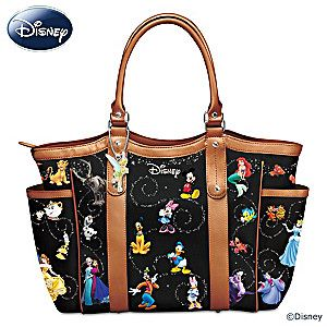 "Disney ""Carry The Magic"" Designer-Style Handbag"