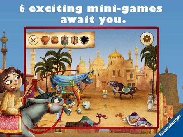 Magic Carpet Land iOS kids app Ravensburger