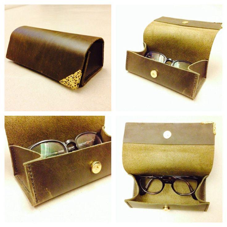 作品_Leather-glasses case