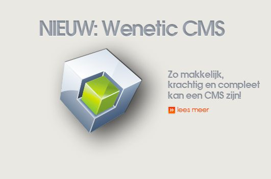 Nieuw Wenetic CMS