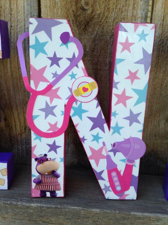 custom handmade doc mcstuffins themed by thelittlethingshouse