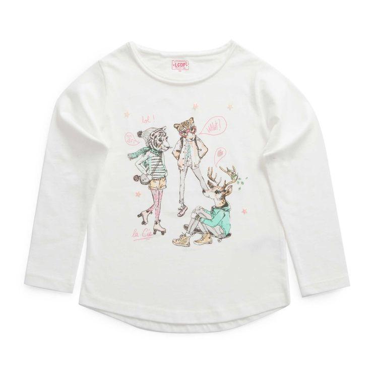 """T-shirt """"GIRLY JUNGLE"""""""