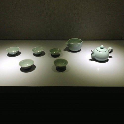 Celadon Asian tea set by Seung-pyo,Lee, Made In Korea @ https://www.gokoco.com/gkc/home-accessories-decoration/artisan-handmade-celadon-asian-tea-set-by-seung-pyo-lee-made-in-korea.html #handmadeartisans #celadonasianteaset #madeinkoreaproducts #homeaccessories
