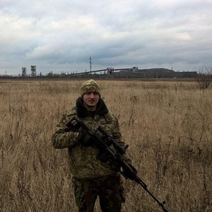 """Володимир Цірик, позивний """"Оса"""", - командир 9 роти 93 бригади. Загинув повертаючись із завдання. Спочатку було підірвано БМП, а потім бойовики відкрили вогонь."""