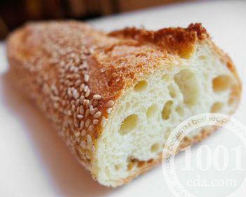 Пышный хлеб на семолине