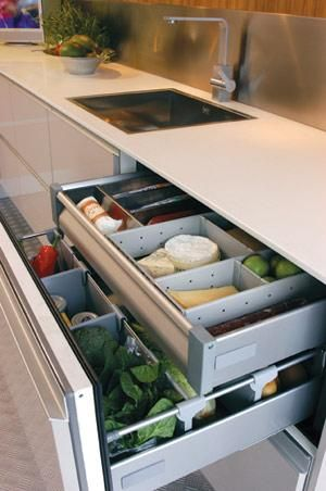 Informatie op Keukens.be - keukens.be, keukens, snufjes, techniek, inox, amerikaanse koelkast, professioneel, no-frost-systeem