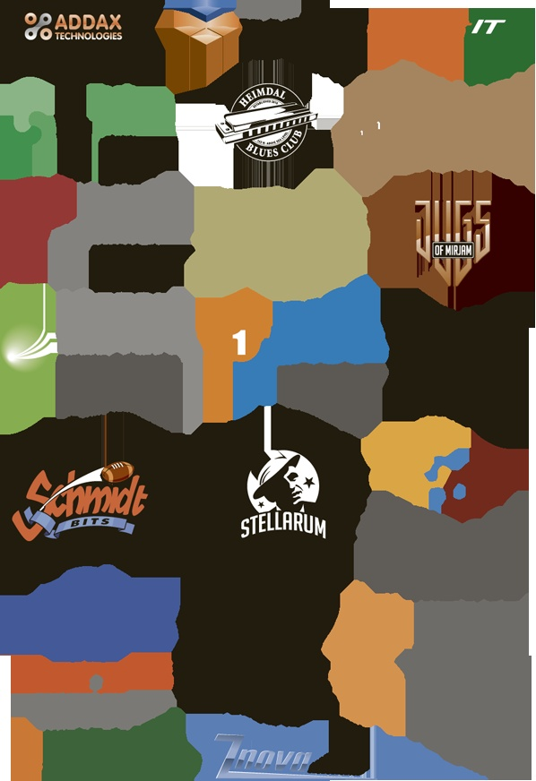 A variety of logo designs from www.doghouse.no