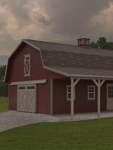 1000 ideas about amish sheds on pinterest storage sheds for Amish barn construction