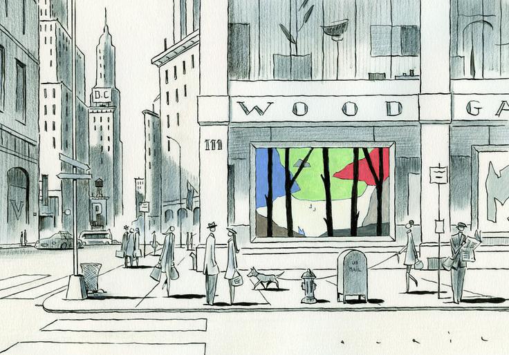 François Avril #illustration #graphisme #design #city