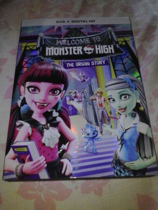 Welcome To Monster High The Origin Story Movie Is Available Today Now On DVD & Digital HD Also Bonus Feature Ever After High Special