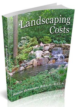 If you really want to know how much different parts of landscaping cost, then take a look at this book. From hardscape to plants to grading...it's all there. Based on my 15 years experience!  Up to date as of January 2012.   $19.95