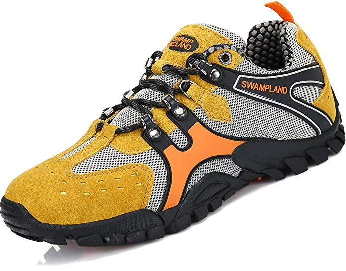 479af9374328a Yavero Mens Hiking Shoes Outdoor Low Top Trekking Hiking Boots ...