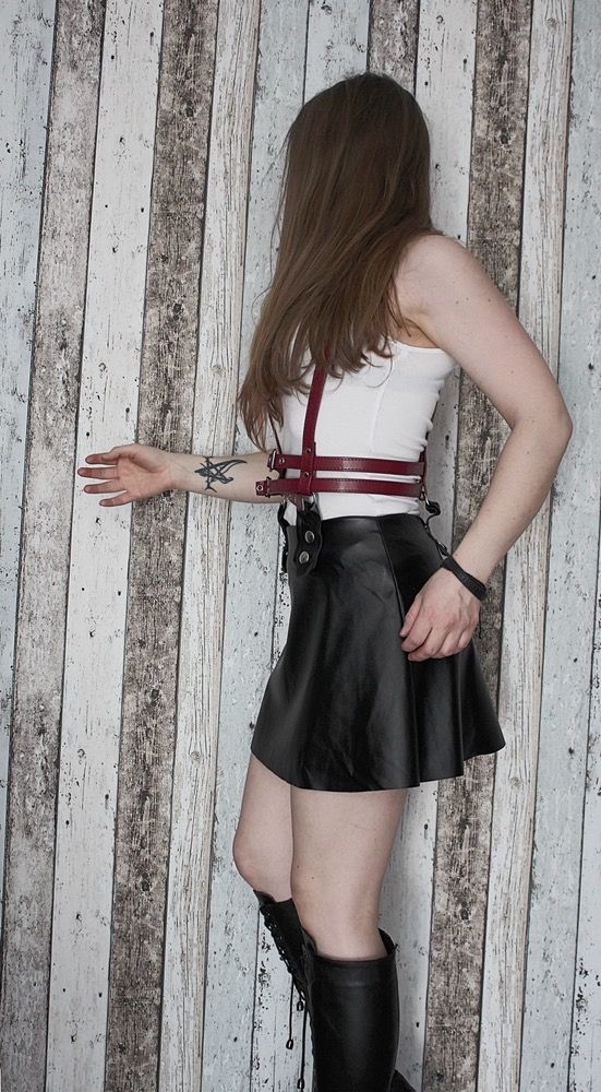 Image of Skirt with Harness