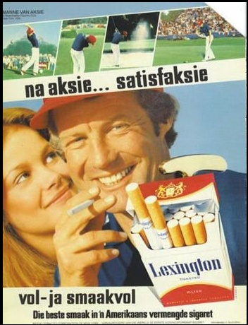 afrikaans and cigarettes
