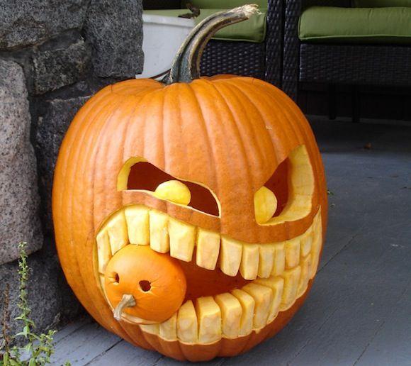 348 best halloween! images on Pinterest | Carving pumpkins, Pumpkin ...