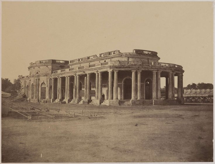 Theatre of Cawnpore (Kanpur), Occupied by the Nana Sahib during the Mutiny - c.1857-1858 - Old Indian Photos