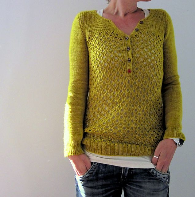 Ravelry: Project Gallery for Timeless Henley pattern by Joji Locatelli $6.50