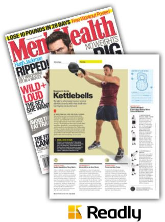 Suggestion about Men's Health June 2014 page 66