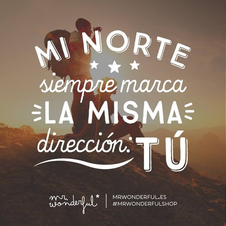 Lo de mi brújula es curioso… #mrwonderfulshop #quotes #direction #you